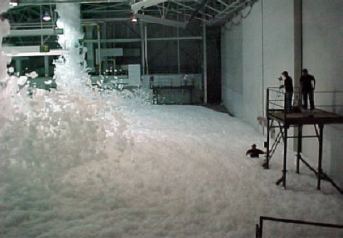 high expansion foam test